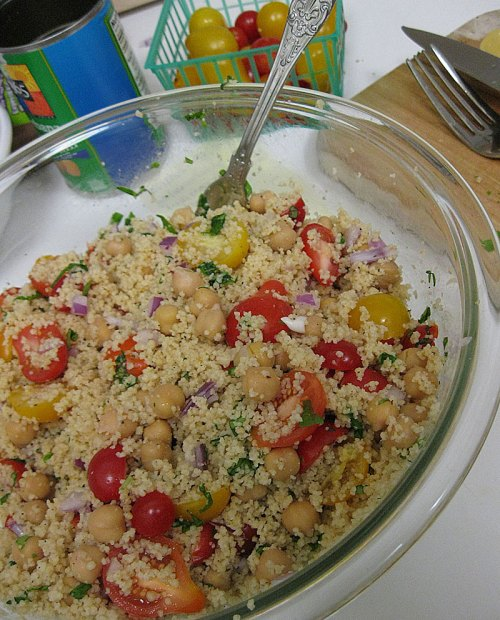 lemmonbasil couscous