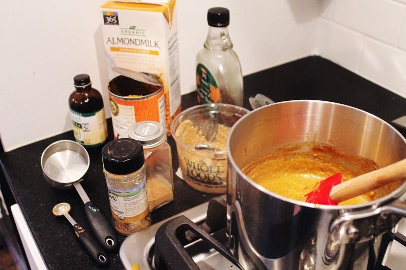 pumpkin almond butter ingredients